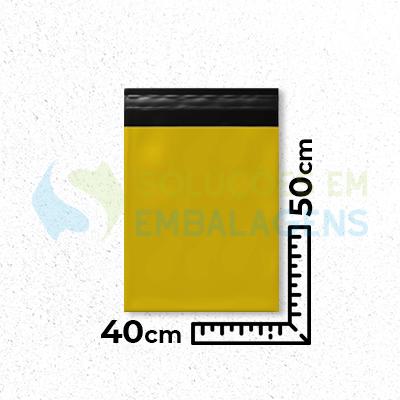 Envelope de Segurança Colorido 40 cm x 50 cm Liso