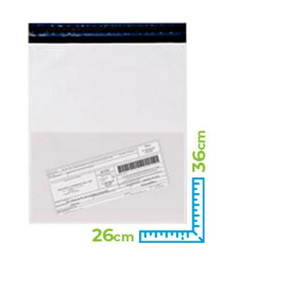 Envelope para E-commerce com Bolsa Canguru 26 cm x 36 cm