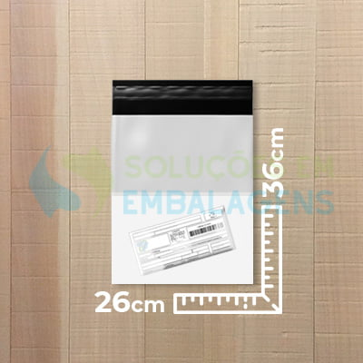 Envelope para E-commerce com Bolsa Canguru 26x36