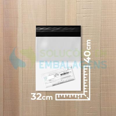 Envelope para E-commerce com Bolsa Canguru 32x40