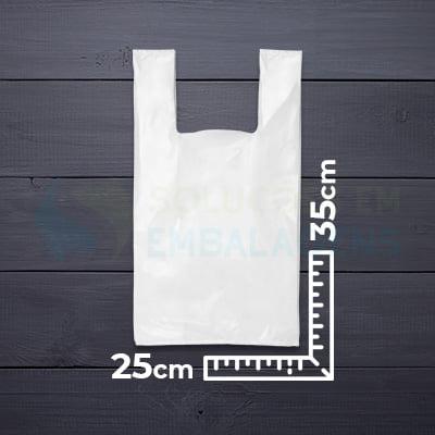 Sacola Alça Camiseta 25x35
