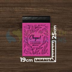 Envelope de Segurança Colorido Personalizado 19 cm x 25 cm