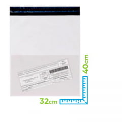 Envelope para E-commerce com Bolsa Canguru 32 cm x 40 cm