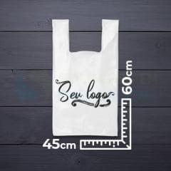 Sacolas Personalizadas Alça Camiseta 45x60