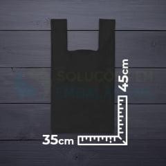 Sacola Alça Camiseta 35x45