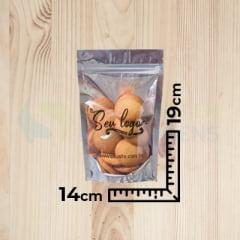 Saco Stand Up Pouch Personalizado Transmetal 14x19