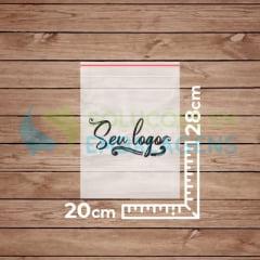 Saco Zip Lock Personalizado 20x28